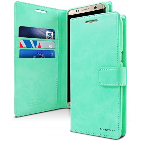 Mercury Blue Moon Diary Samsung Galaxy S9 Plus - Mint