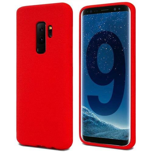 Mercury Soft Feeling Case for Samsung Galaxy S9 Plus - Red