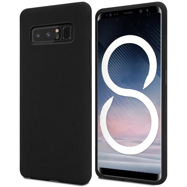 Mercury Soft Feeling Case for Samsung Galaxy Note 8 - Black