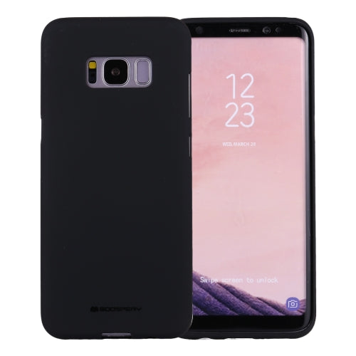 Mercury Soft Feeling Case for Samsung Galaxy S8 Plus - Black