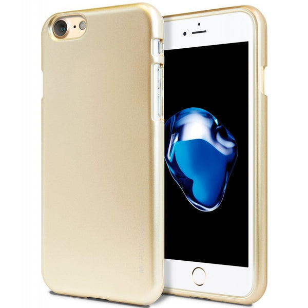 Mercury Jelly Case for iPhone 6/6s Plus - Metal Gold