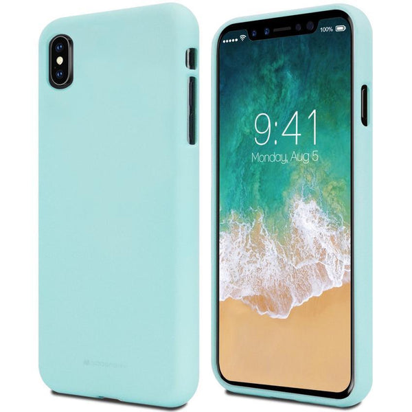 Mercury Soft Feeling Case for iPhone XS Max - Mint