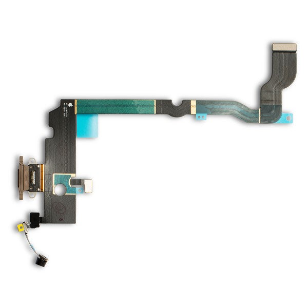 Charging Port Flex Cable for iPhone XS Max - Gold