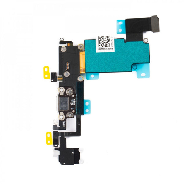 "Charging Port & Headphone Jack Flex Cable for iPhone 6S Plus (5.5"") - White"