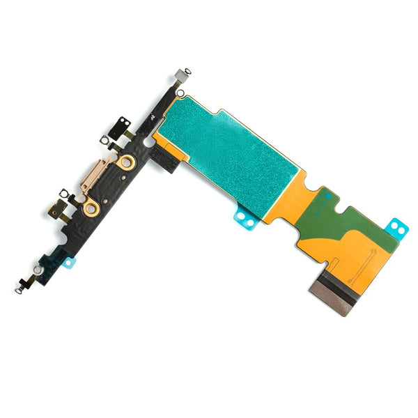 "Charging Port Headphone Jack Flex Cable for iPhone 8 Plus (5.5"") - Gold"