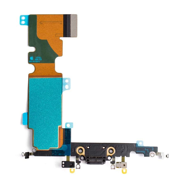 "Charging Port Headphone Jack Flex Cable for iPhone 8 Plus (5.5"") - Space Gray"