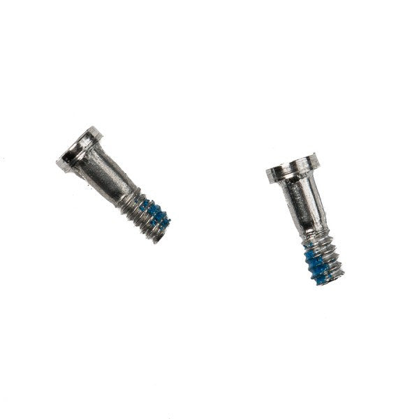 "Pentalobe Screw (Set of 2) for iPhone 6 (4.7"") / iPhone 6S (4.7"") / iPhone 6 Plus (5.5"") / iPhone 6S Plus (5.5"") - Silver"