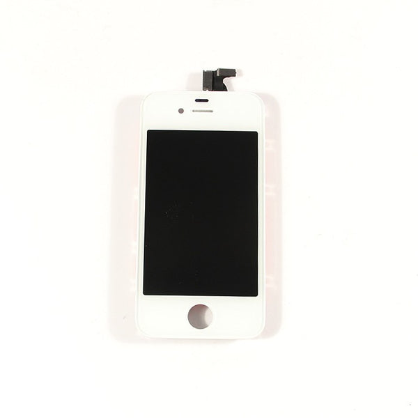 LCD & Digitizer Frame Assembly for iPhone 4 - White