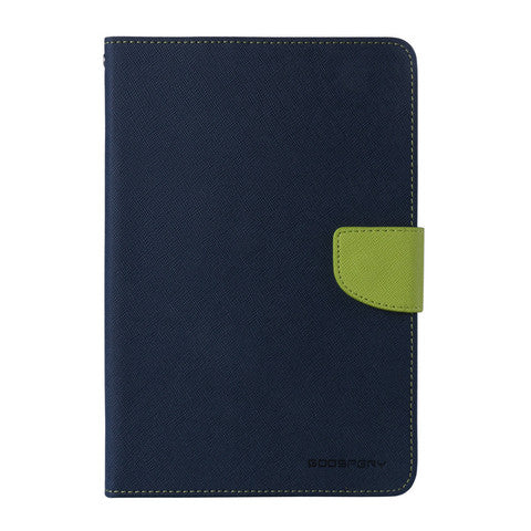 Mercury Fancy Diary Case for iPad 9.7 - Navy