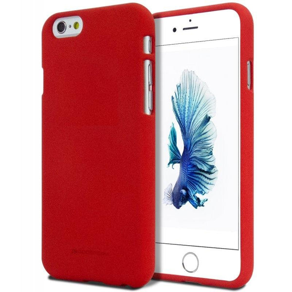 Mercury Soft Feeling Case for iPhone 6/6s Plus - Red
