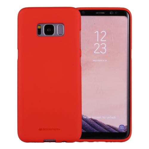 Mercury Soft Feeling Case for Samsung Galaxy S8 Plus - Red