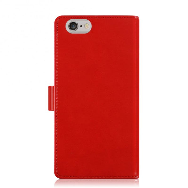 Mercury Blue Moon Diary iPhone 6/6s Plus Case - Red