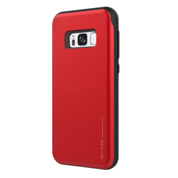Mercury Sky Slide Bumper Case for Samsung Galaxy S8 - Red