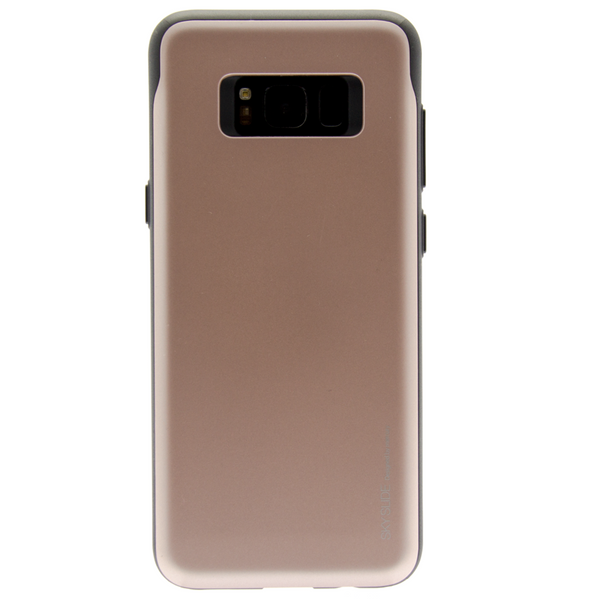 Mercury Sky Slide Bumper Case for Samsung Galaxy S8 - Rose Gold