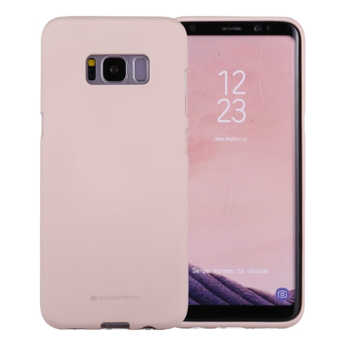 Mercury Soft Feeling Case for Samsung Galaxy S8 - Pink Sand