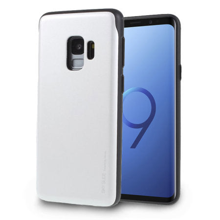 Mercury Sky Slide Bumper Case for Samsung Galaxy S9 Plus - Silver