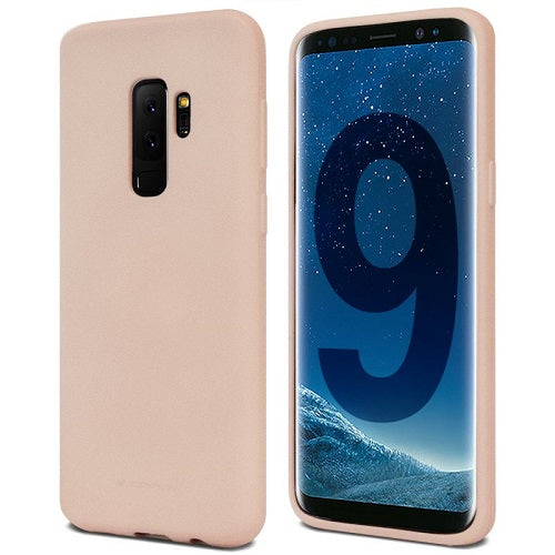 Mercury Soft Feeling Case for Samsung Galaxy S9 Plus -  Pink Sand