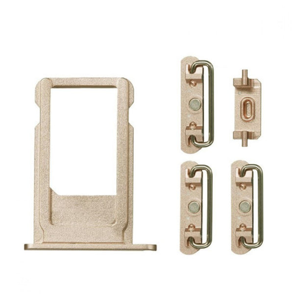 "Sim Tray and Button Set for iPhone 6S Plus (5.5"") - Gold"