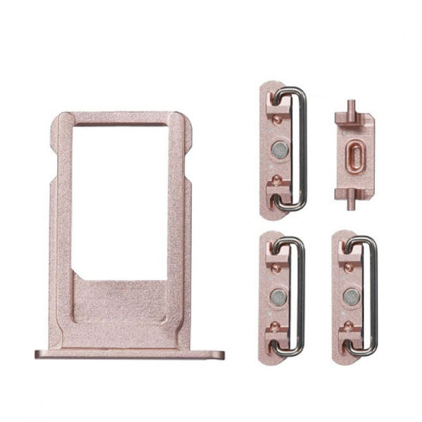 "Sim Tray and Button Set for iPhone 6S Plus (5.5"") - Rose Gold"