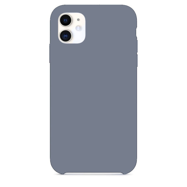 Mercury Silicone Case for iPhone 11 Pro - Lavender Grey