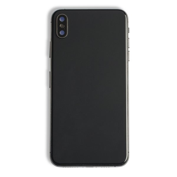 Back Housing with Small Parts for iPhone XS Max Black