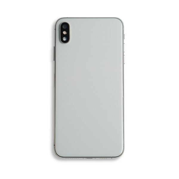 Back Housing with Small Parts for iPhone XS Max Silver