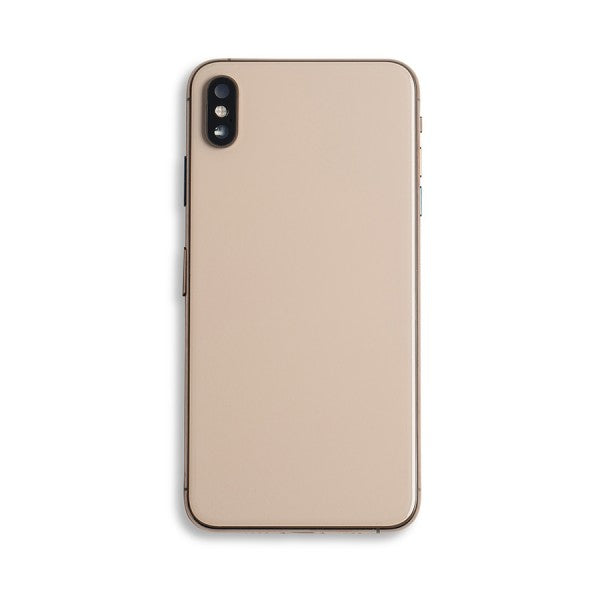 Back Housing with Small Parts for iPhone XS Max Gold