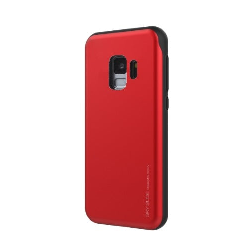 Mercury Sky Slide Bumper Case for Samsung Galaxy S9 Plus - Red