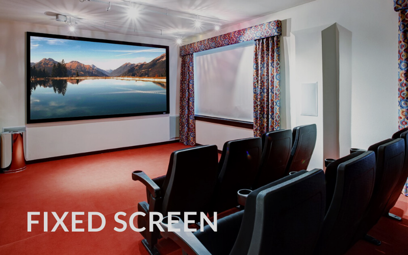 Screen Innovations Fixed Screen