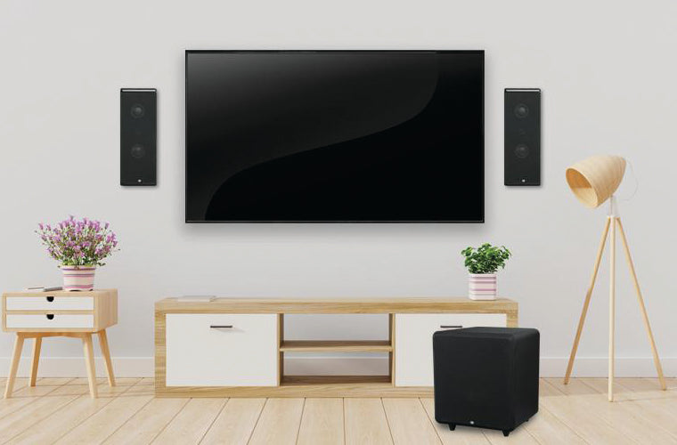 RBH Sound On-Wall Speaker System for Living Room I Moovee Space