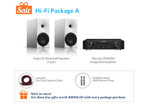 Hi-Fi Package A (Marantz Integrated Amplifier)