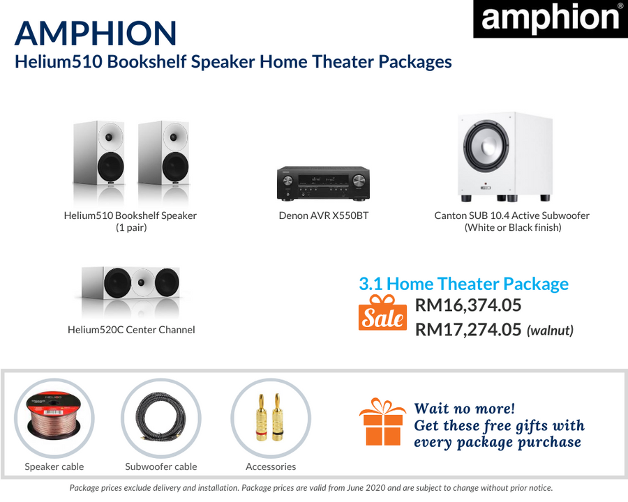 3.1 Home Theater Package