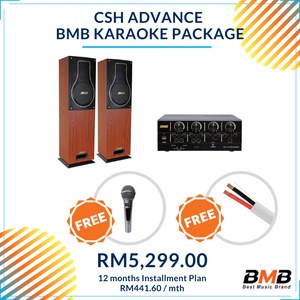 BMB Karaoke CSH Advance Package