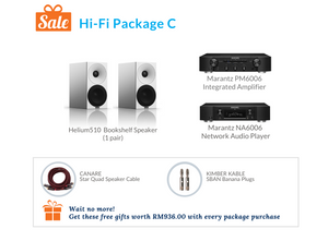 Hi-Fi Package C (Marantz Integrated Amplifier & Network Player)