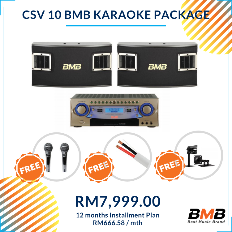 BMB Karaoke CSV 10 Package