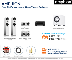 Amphion Argon7LS 5.1 Home Theater Package