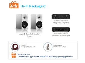 Hi-Fi Package C (Marantz Integrated Amplifier & Network Audio Player)