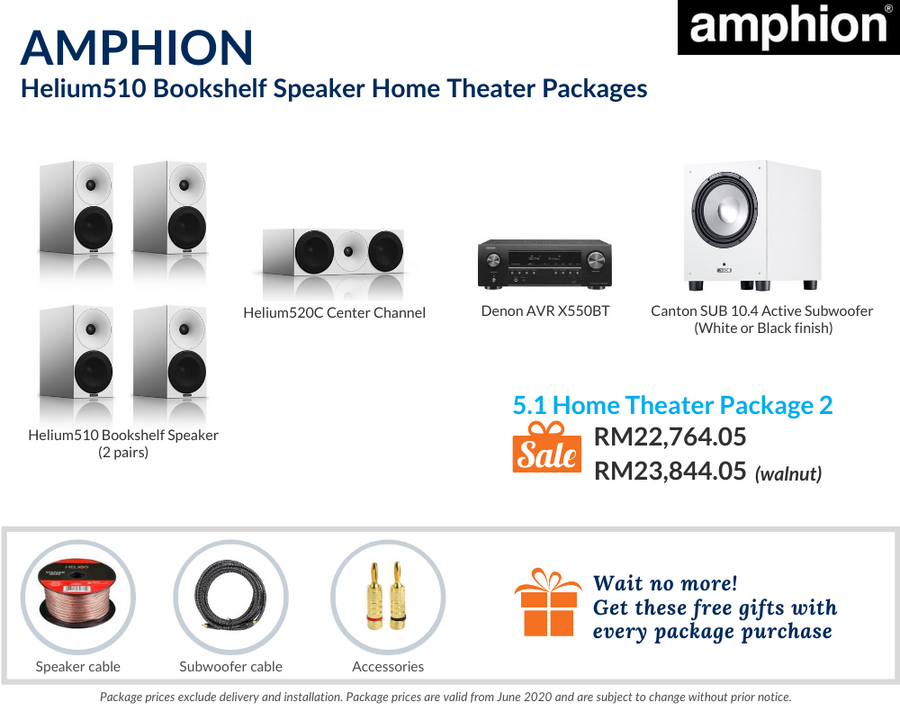 5.1 Home Theater Package