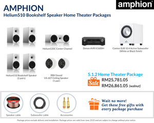 5.1.2 Home Theater Package
