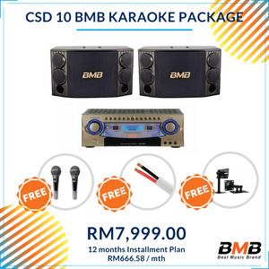BMB Karaoke CSD 10 Package