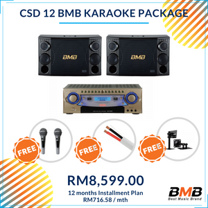 BMB Karaoke CSD 12 Package