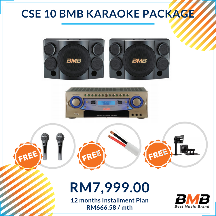 BMB Karaoke CSE 10 Package
