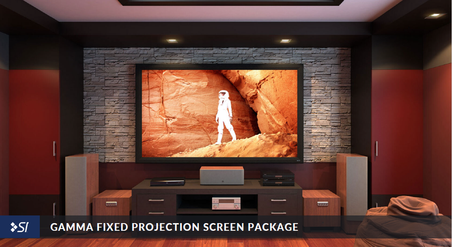 Gamma Fixed Projection Screen