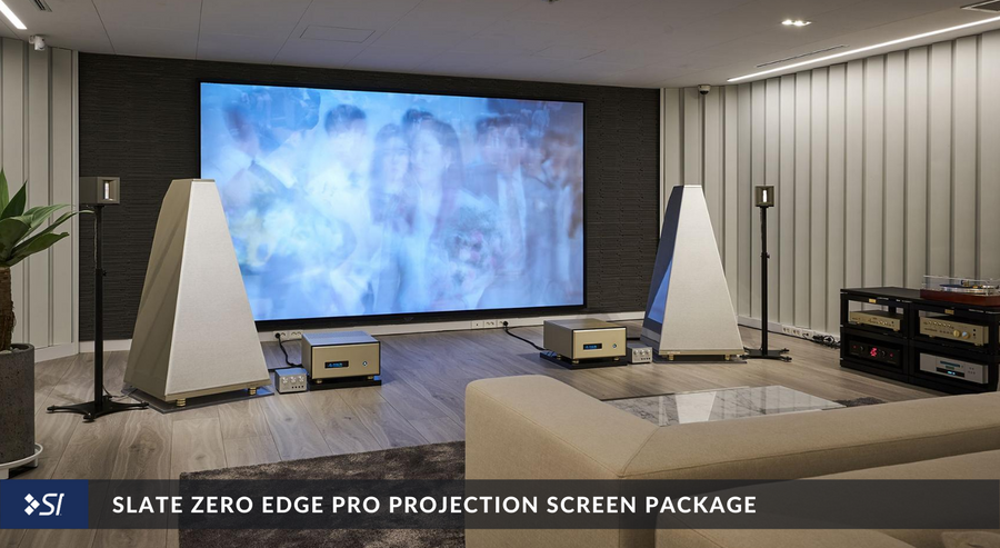 Slate Zero Edge Pro Projection Screen