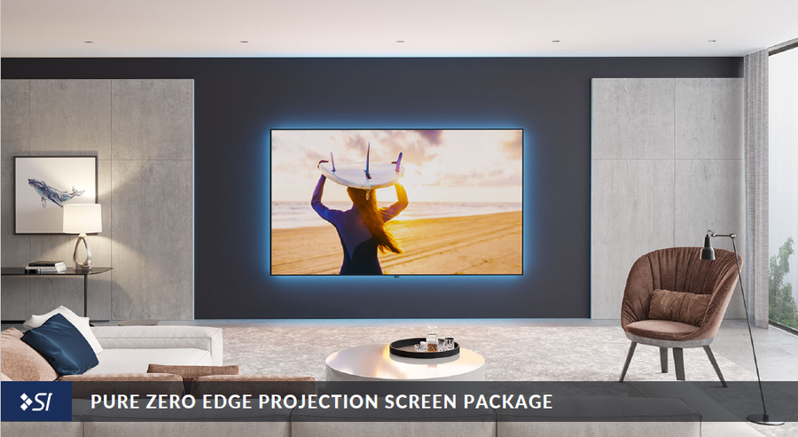 Pure Zero Edge Pro Projection Screen