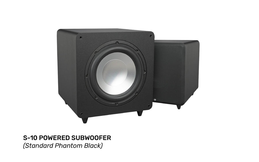 RBH Sound S-Series S-10 Powered Subwoofer - MACROLOGIX