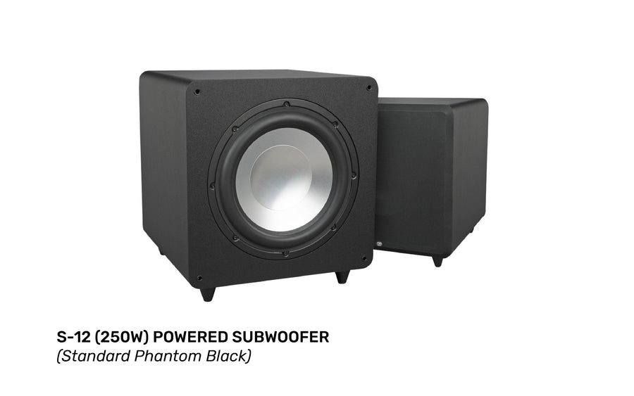 RBH Sound S-Series S-12 (250W)  Powered Subwoofer - MACROLOGIX