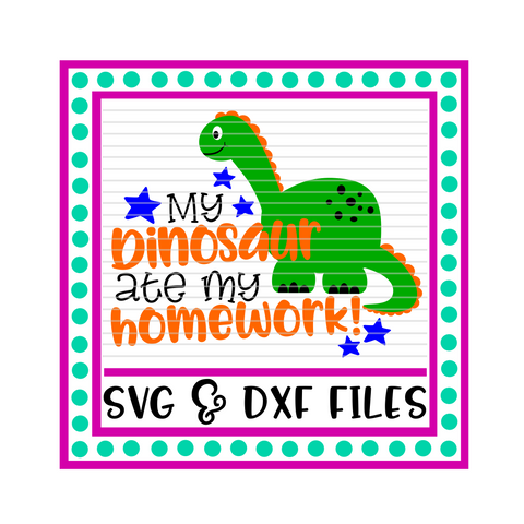 My Dinosaur Ate My Homework