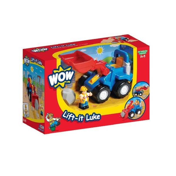 PreSchool Toy | WOW Toys Lift it Luke