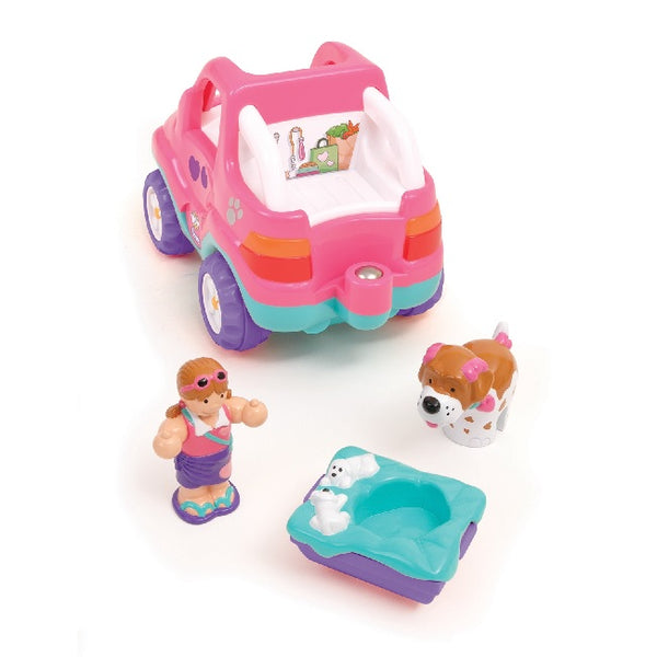 Pennys Pooch n Ride Toddler Preschool Toy set